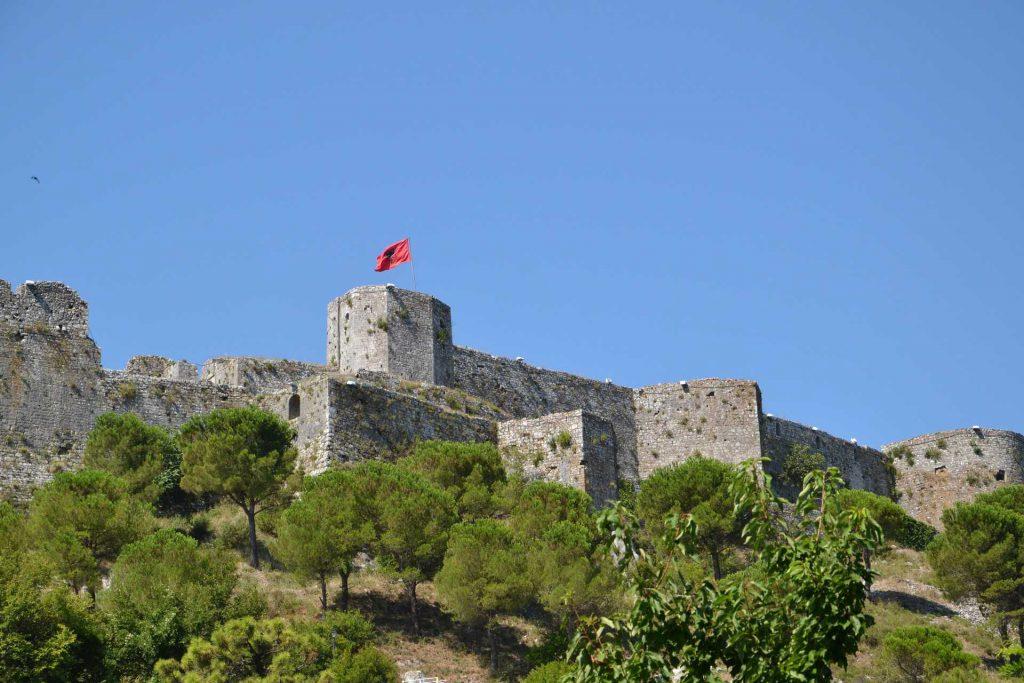 Albania - Twierdza Rozafa