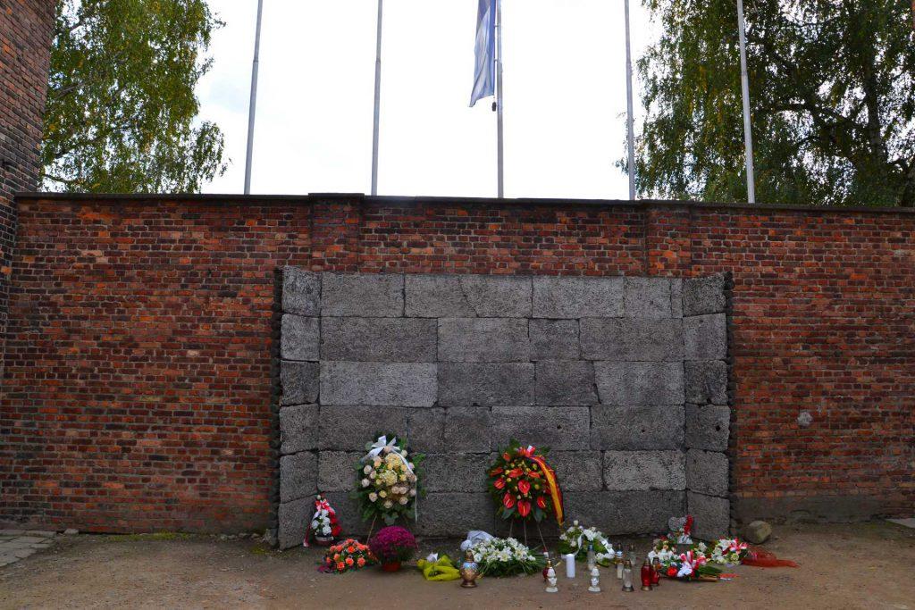 Obóz koncentracyjny Auschwitz - ściana straceń