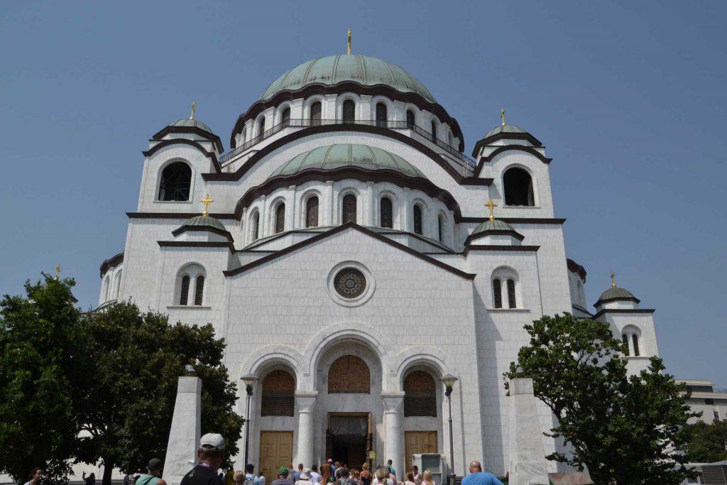 Serbia - cerkiew św. Sawy w Belgradzie