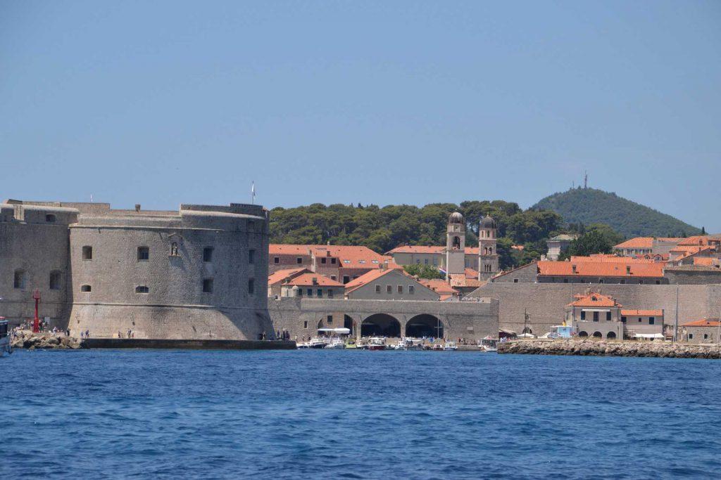 Chorwacja - rejs wokół murów Dubrownika