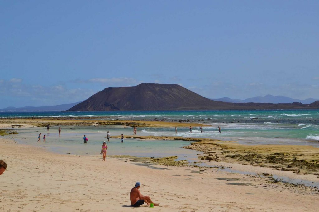 Fuerteventura - plaża w Corralejo