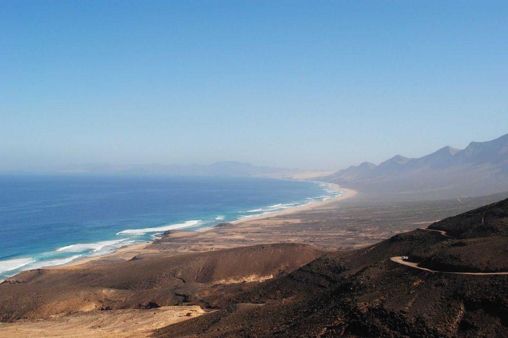 Fuerteventura - plaża Cofete