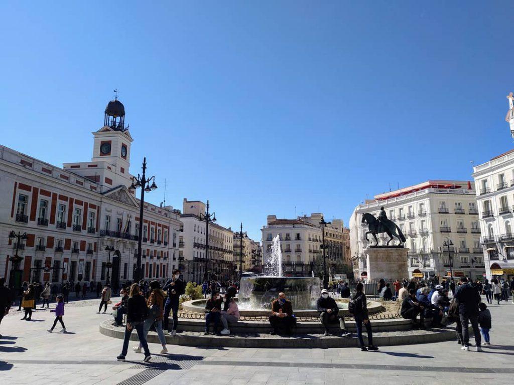 polka w hiszpanii - madryt