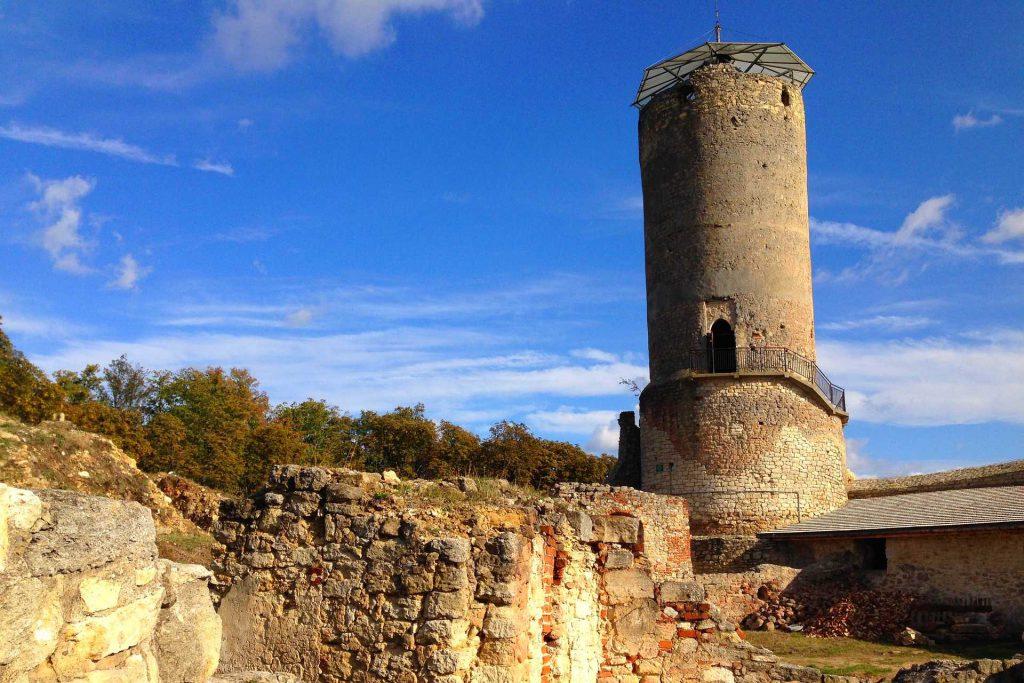 Iłża - ruiny zamku