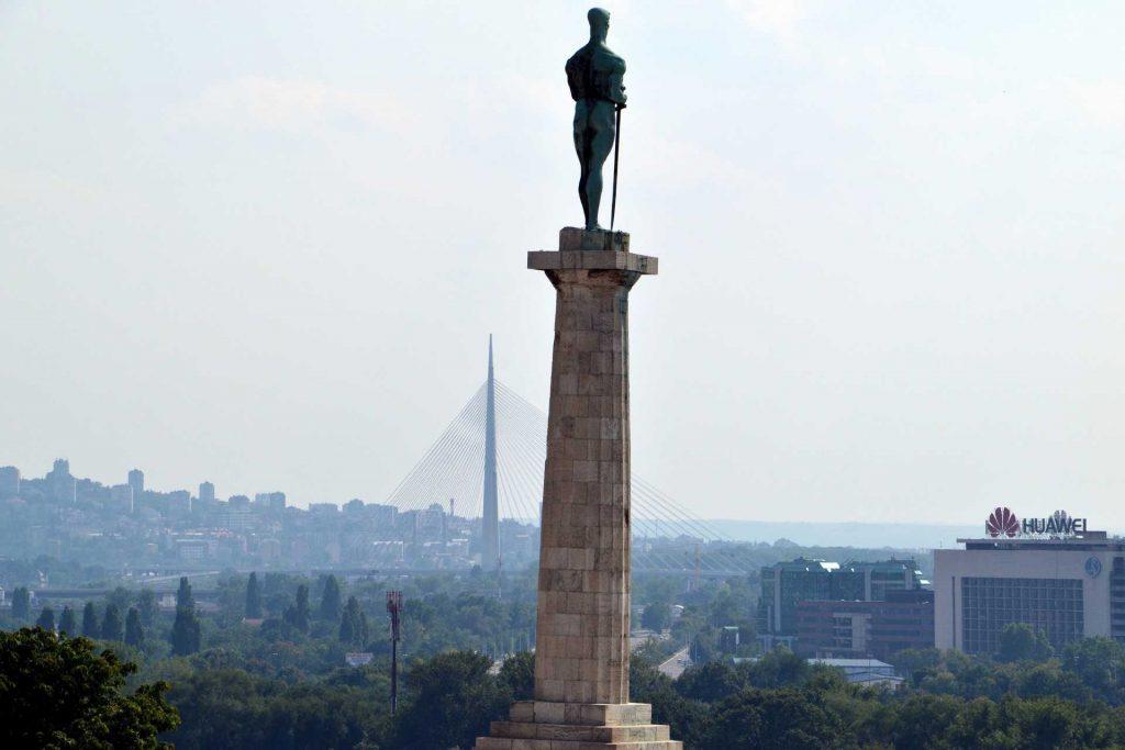 Serbia - twierdza Kalemegdan w Belgradzie
