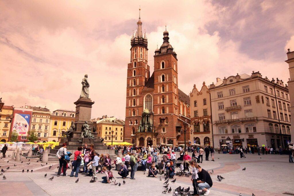 kraków na weekend - Rynek Główny w Krakowie