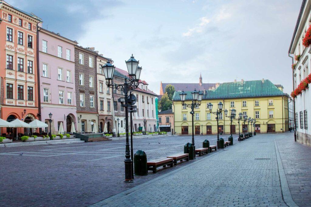 kraków na weekend - Mały Rynek w Krakowie