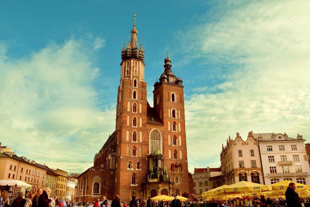 kraków na weekend - Kościół Mariacki w Krakowie