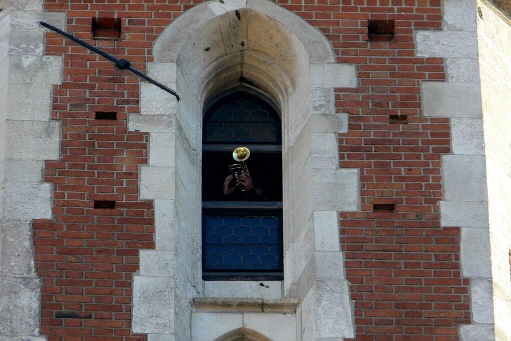 kraków na weekend - Hejnał z wieży Kościoła Mariackiego