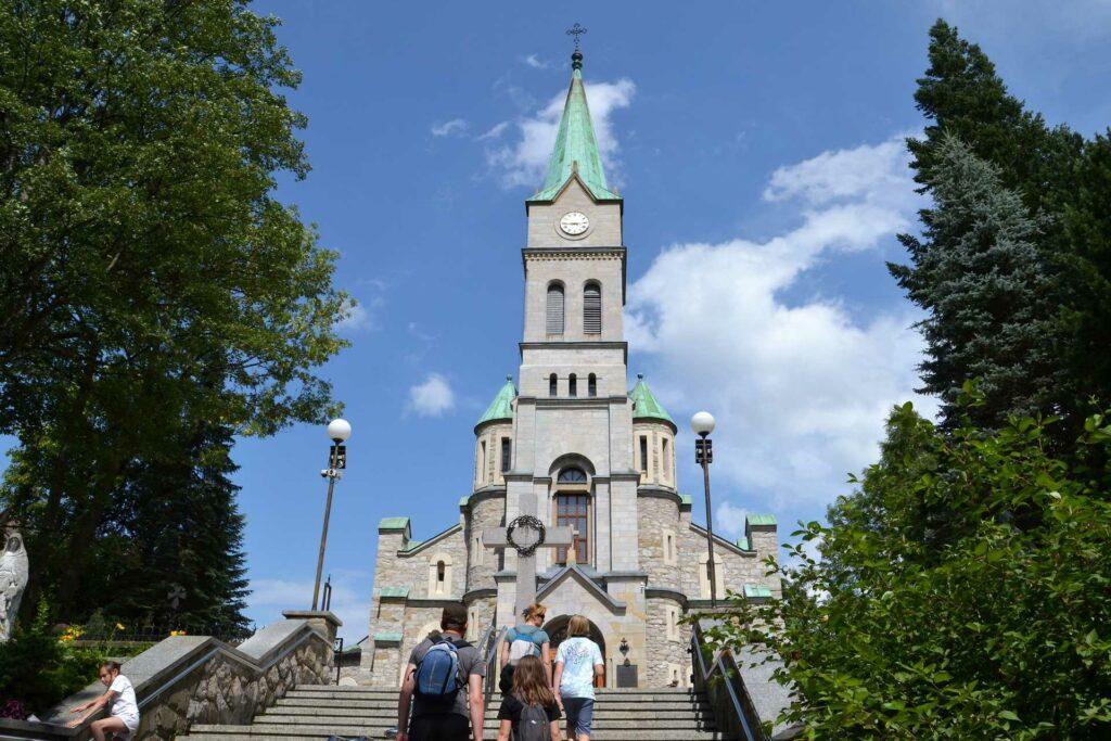 zakopane - kościół parafialny pw. Najświętszej Rodziny