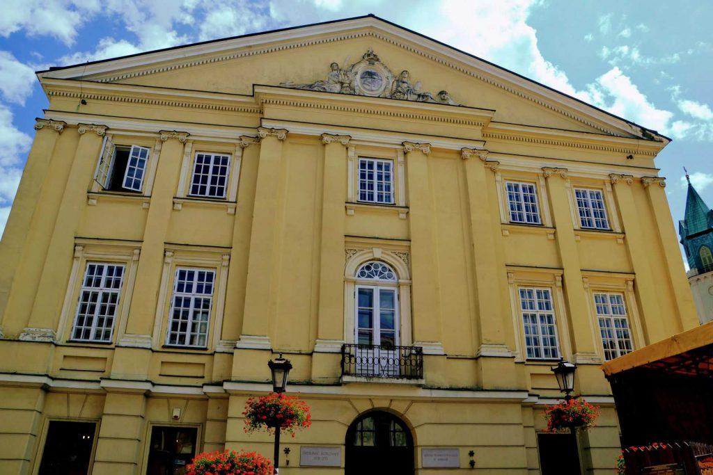 Lublin - budynek Trybunału Koronnego