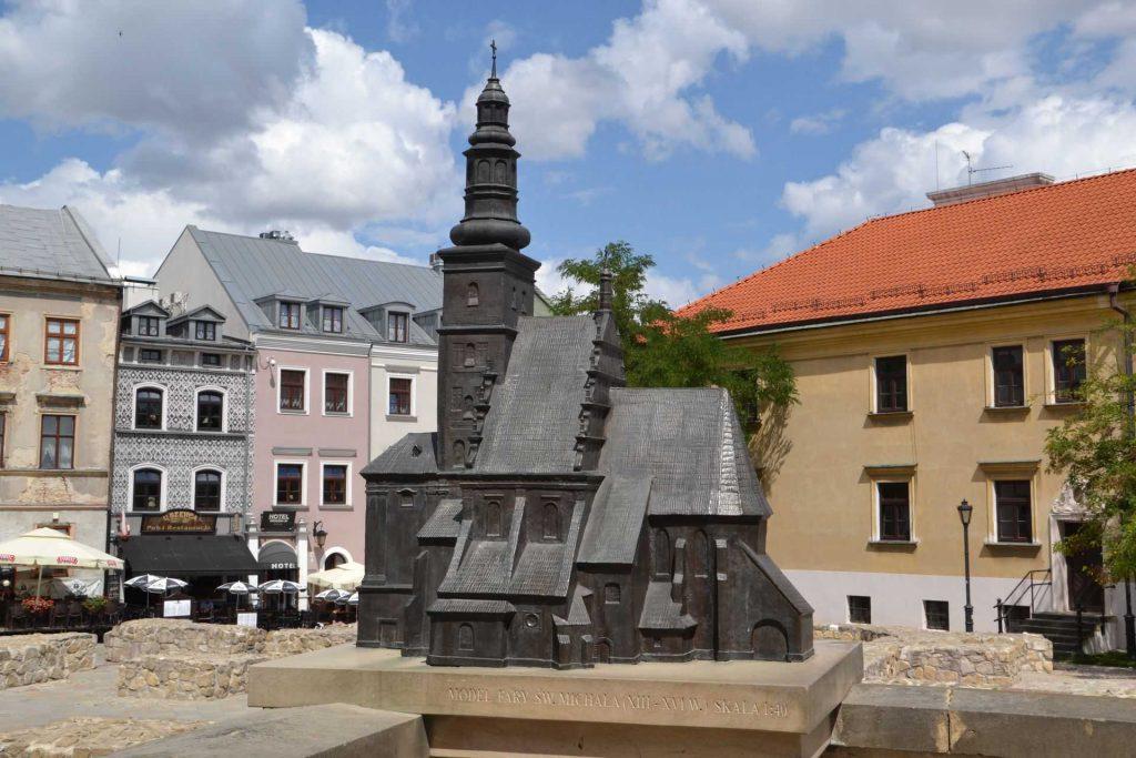 Lublin - makieta lubelskiej Fary