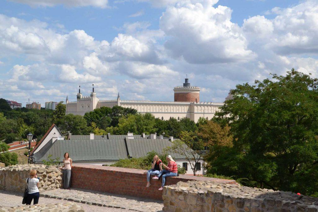 Lublin - widok na zamek