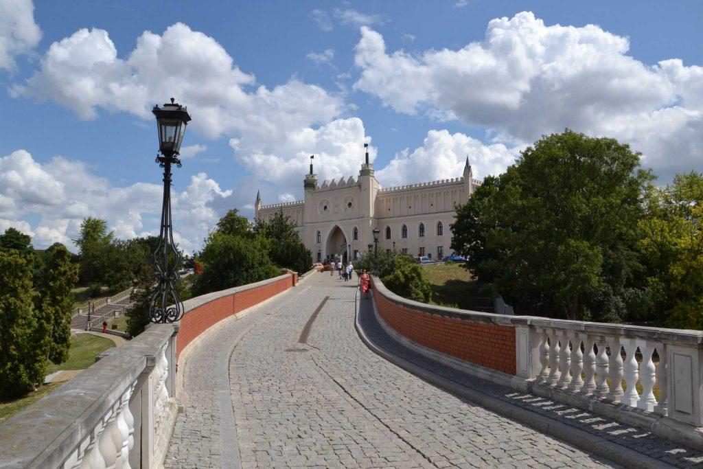 Lublin - wejście na zamek