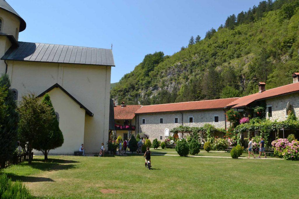 Czarnogóra - monastyr Morača