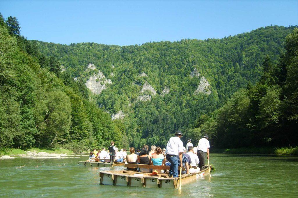 Pieniny - spływ przełomem Dunajca