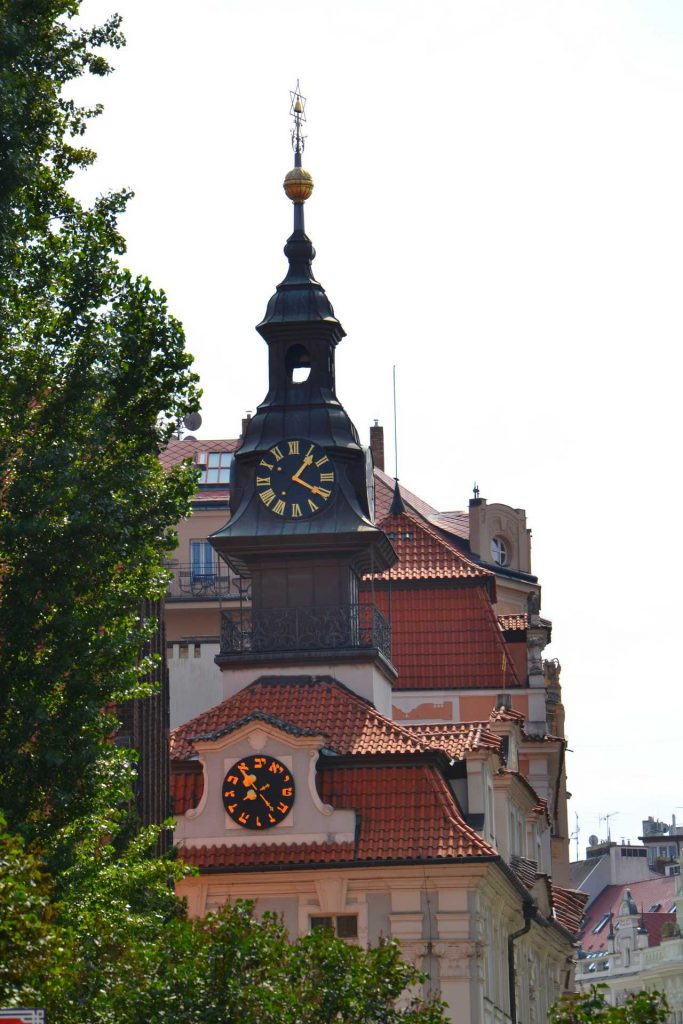 Praga - Ratusz Żydowski