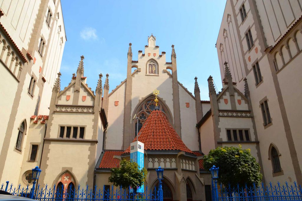 Praga - Synagoga Maisela