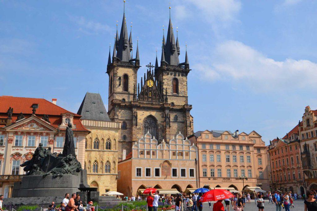 Praga - kościół Marii Panny przed Tynem