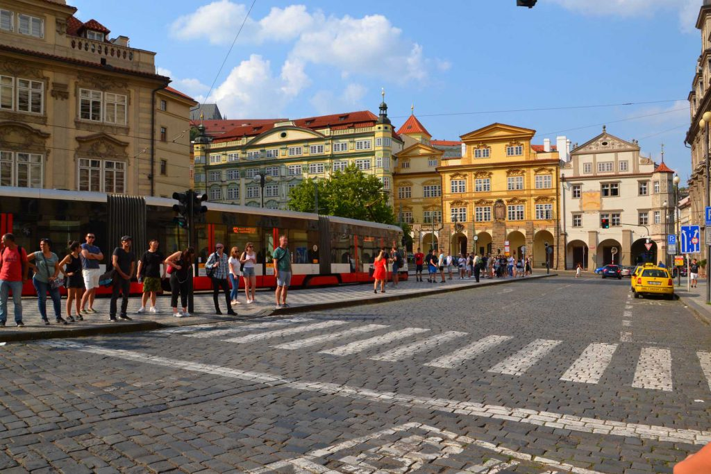 Praga - Rynek Małostrański