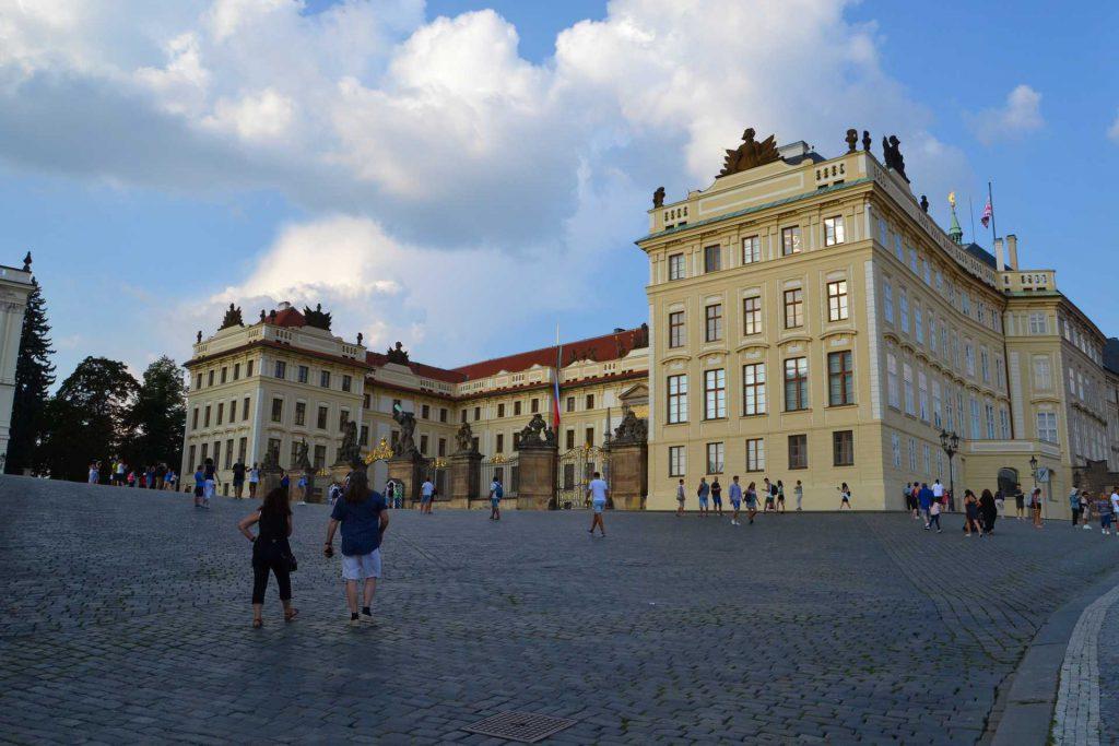 Praga - zamek na Hradczanach