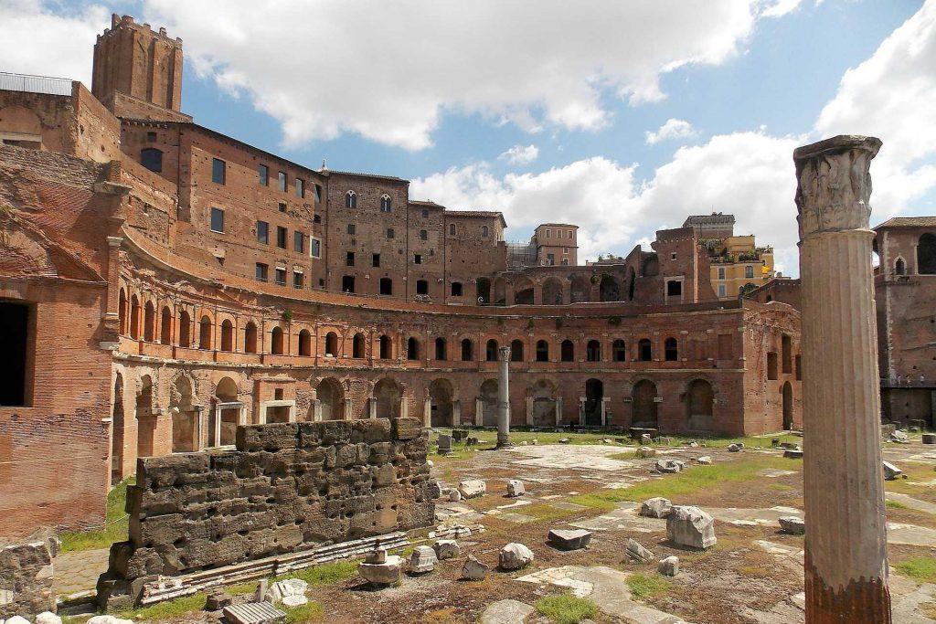 Hale Trajana, Forum Romanum, Rzym