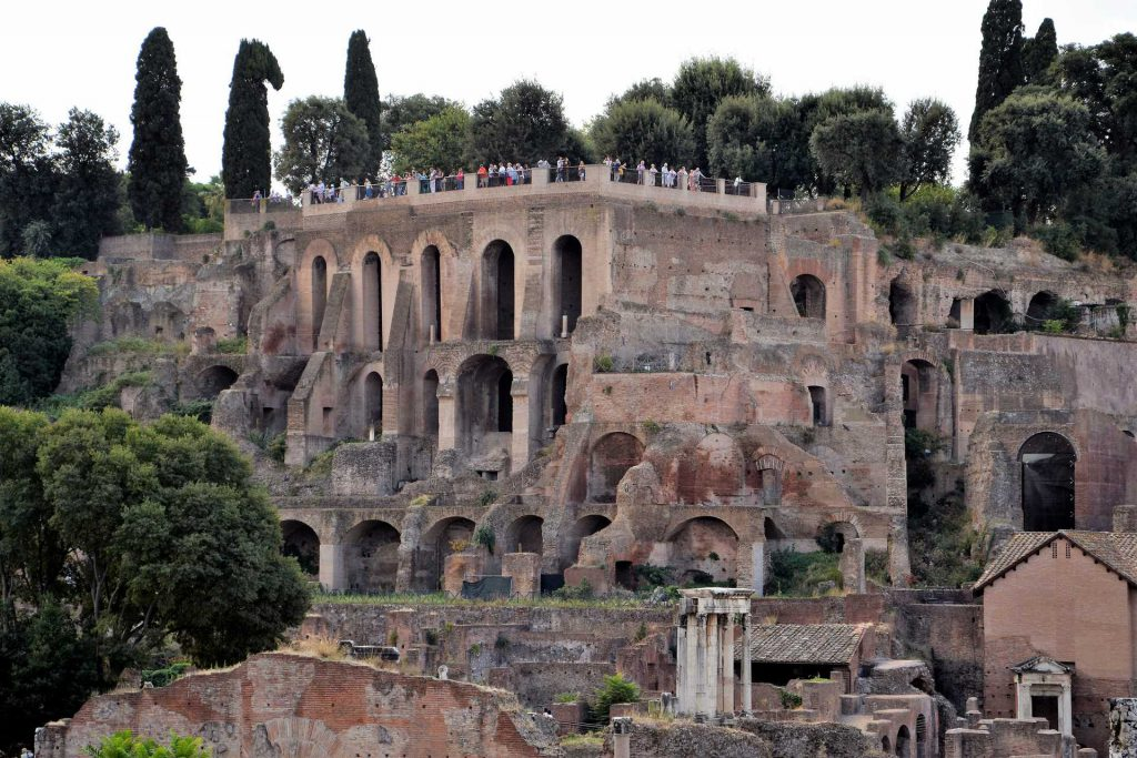 Domus Augustana, Forum Romanum, Rzym
