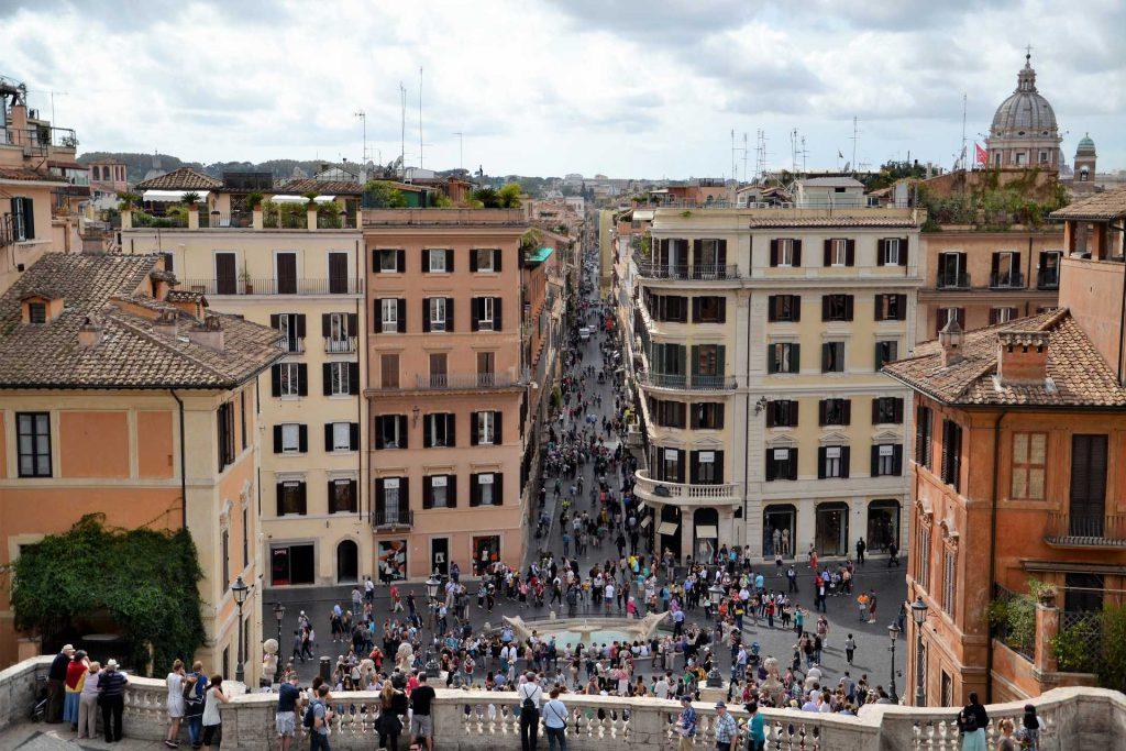 Hiszpańskie Schody w Rzymie