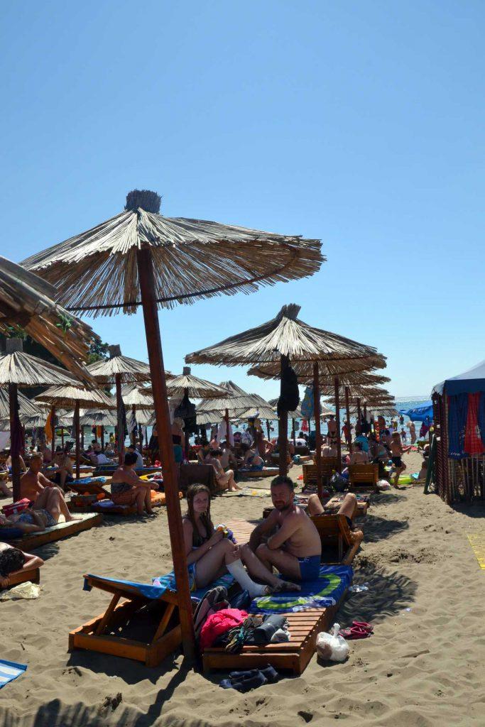 Mała Plaża w Ulcinj