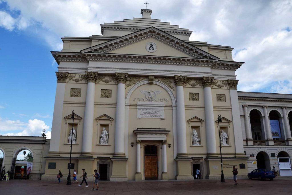 Stare Miasto w Warszawie - kościół św. Anny