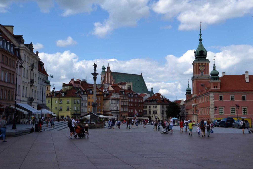 Stare Miasto w Warszawie - Plac Zamkowy