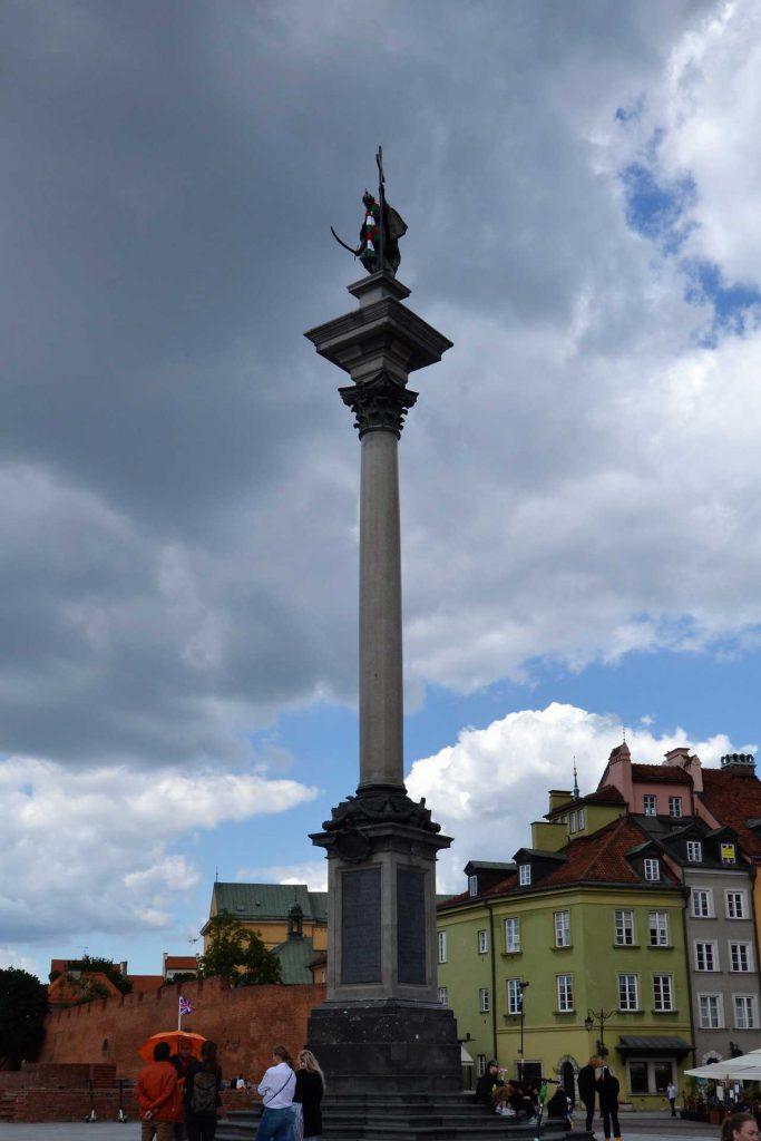 Stare Miasto w Warszawie - Kolumna Zygmunta
