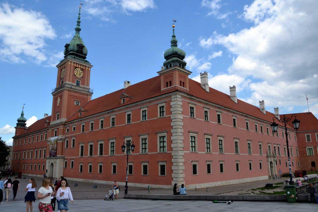 Stare Miasto w Warszawie - Zamek Królewski