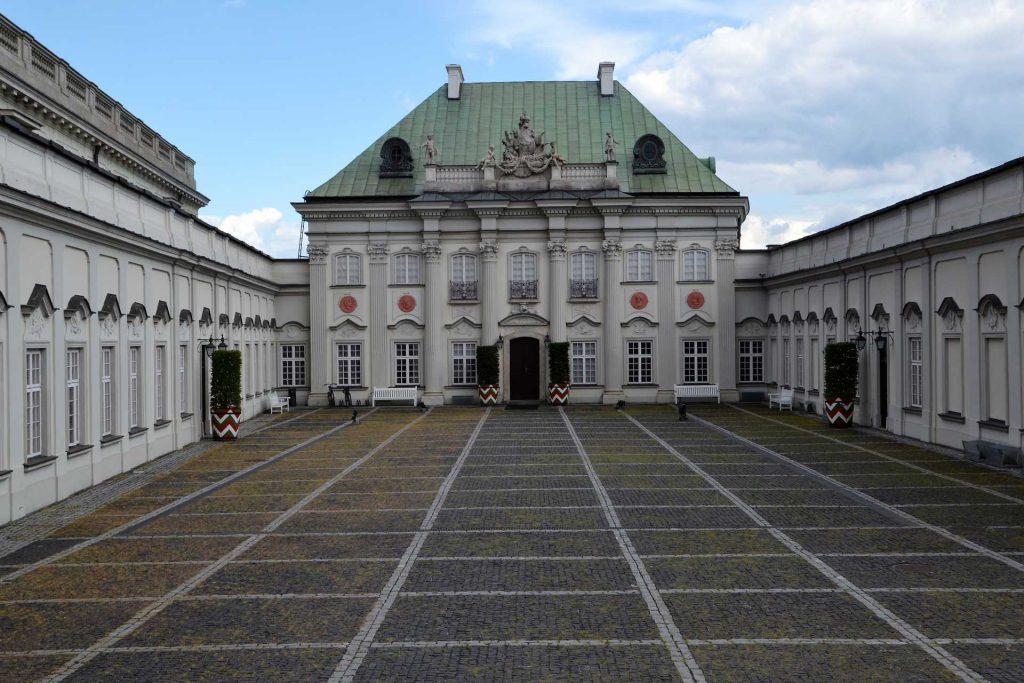 Stare Miasto w Warszawie - Pałac pod Blachą