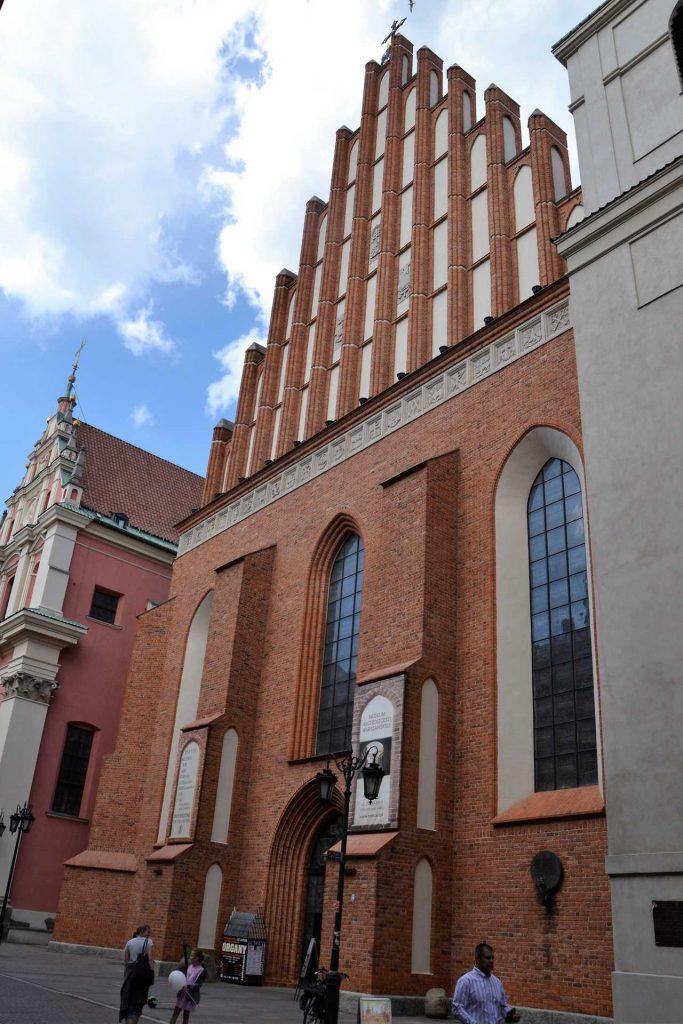 Stare Miasto w Warszawie - Archikatedra Warszawska