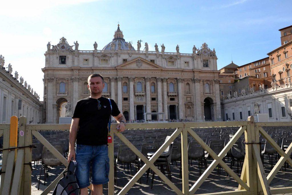 Watykan - plac św. Piotra