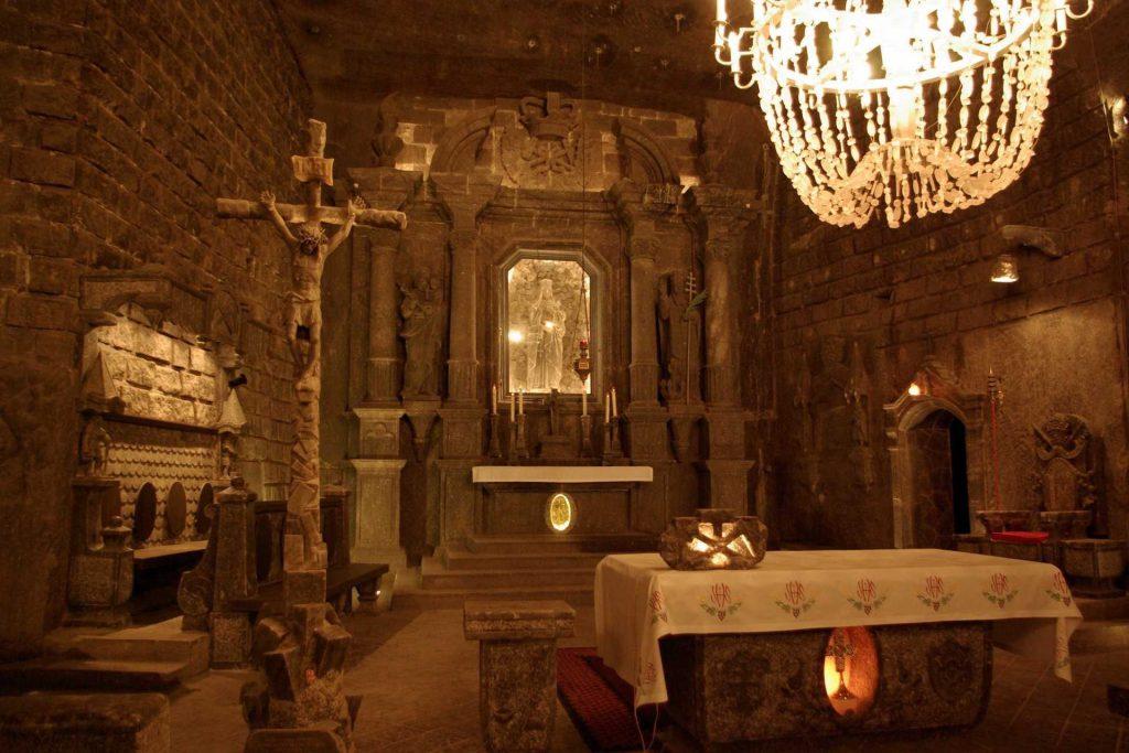 Kopalnia Soli w Wieliczce - kaplica św. Kingi