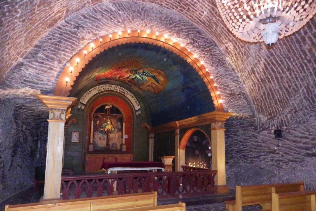 Kopalnia Soli w Wieliczce - kaplica św. Jana