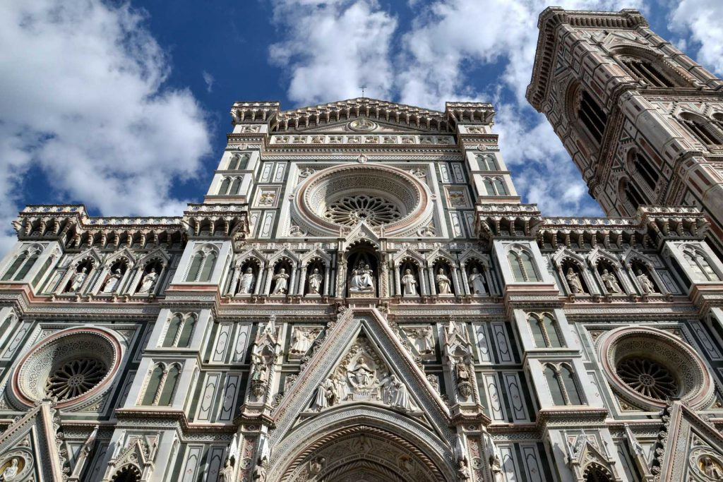 Włochy - katedra Santa Maria del Fiore we Florencji
