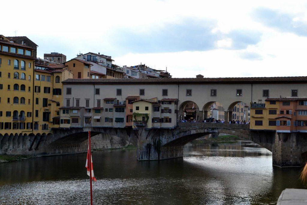 Włochy - Most Złotników we Florencji