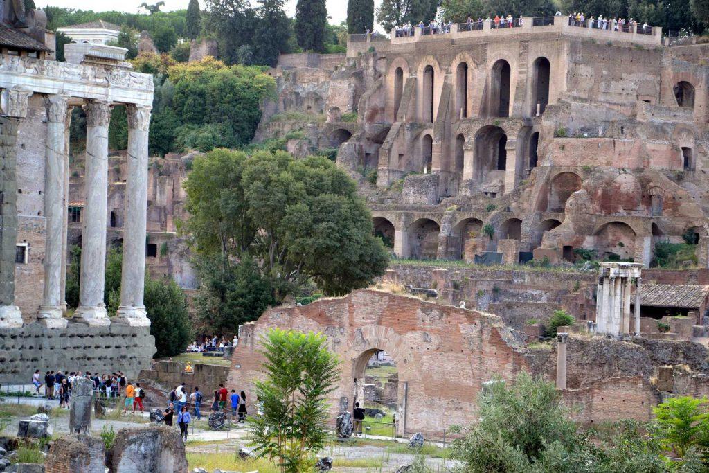 Włochy - Forum Romanum w Rzymie