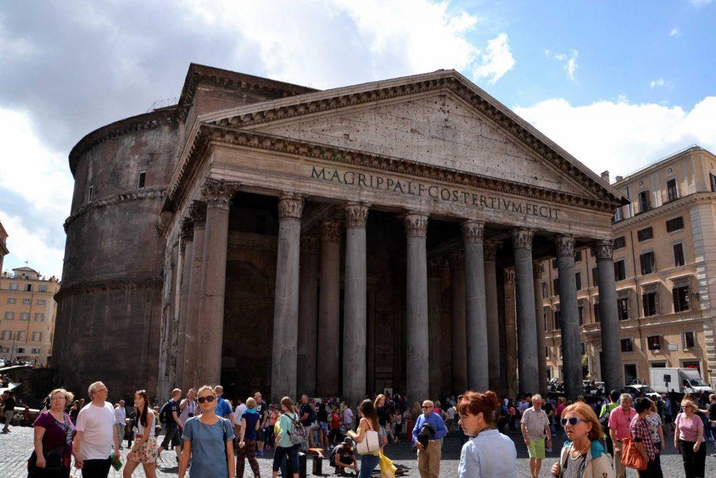 Włochy - Panteon w Rzymie