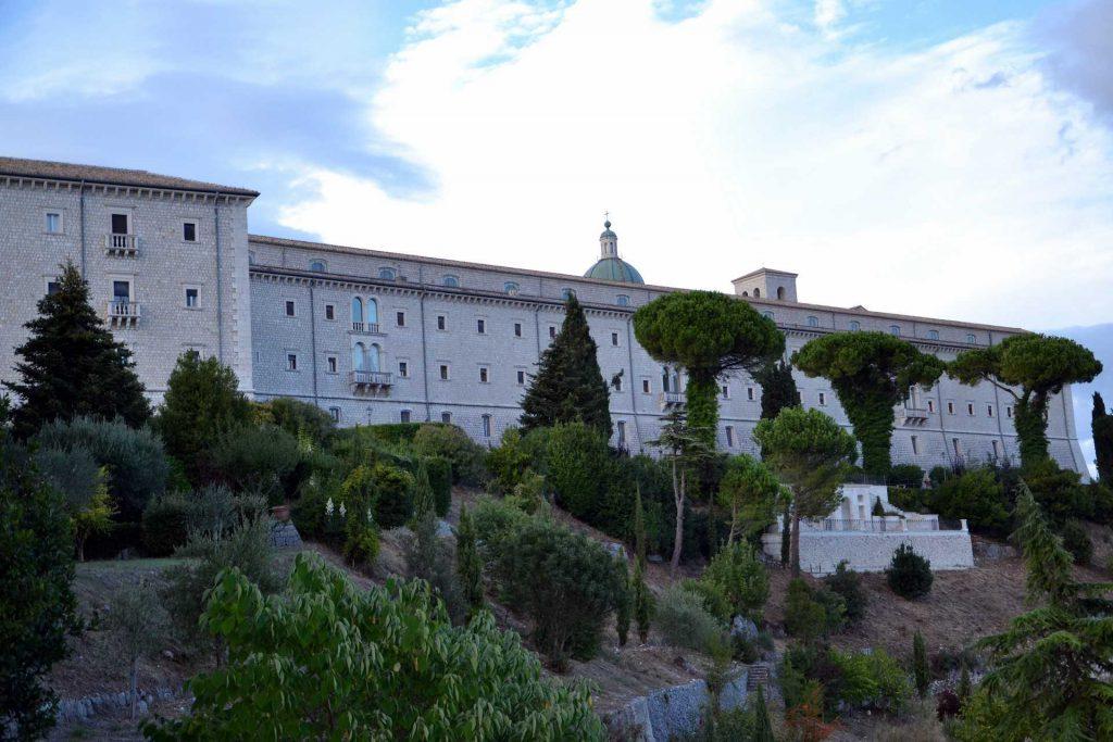 Włochy - klasztor na Monte Cassino