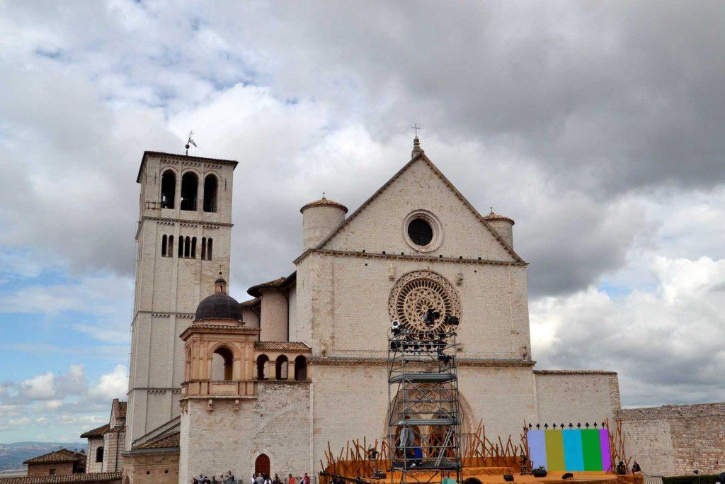 Włochy - bazylika św. Franciszka w Asyżu