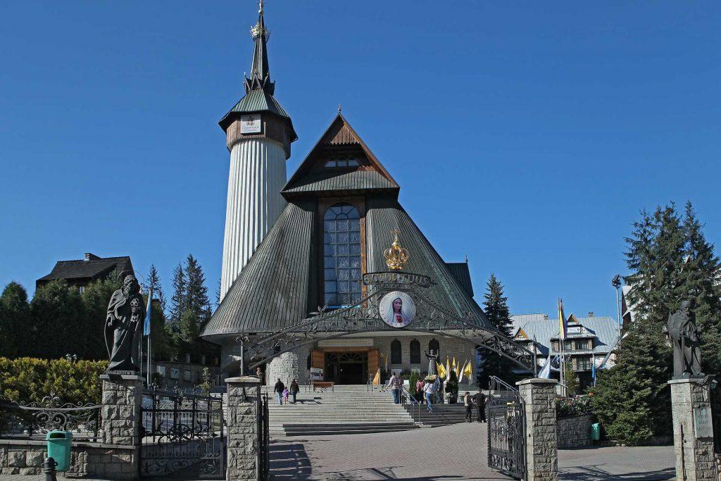 Zakopane - Sanktuarium na Krzeptówkach