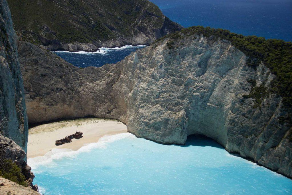 Zakynthos - Zatoka Wraku